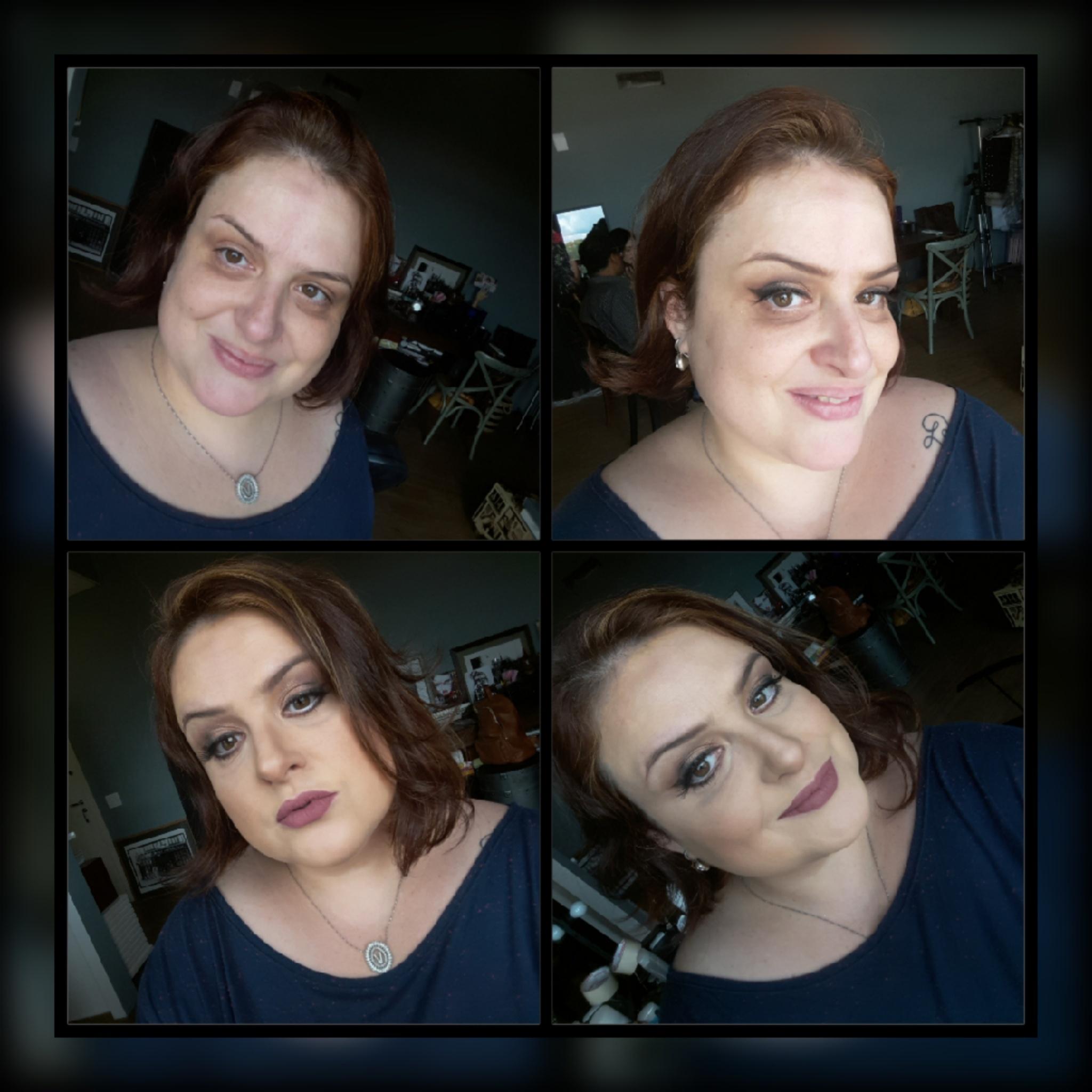 Make antes x depois maquiador(a)