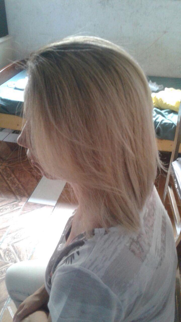 Cabelo matizado cabelo auxiliar cabeleireiro(a)