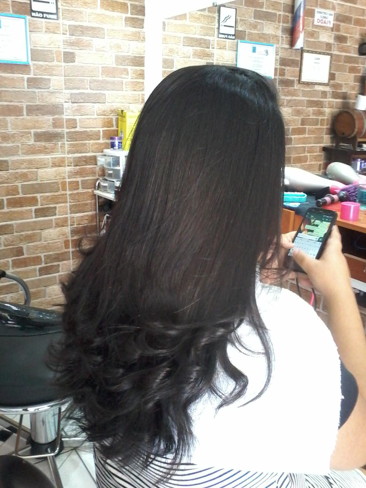 Esse trabalho foi feito por mim, porém ainda estou cursando o curso de cabeleireiro ETC...  outros auxiliar cabeleireiro(a)