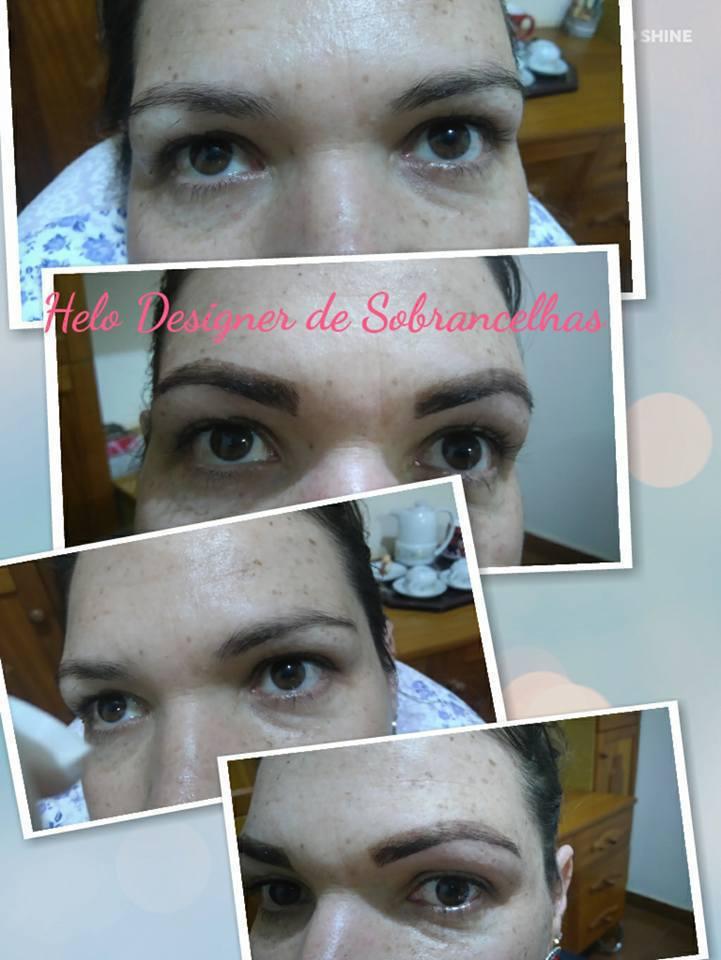 Cliente linda optou pelo Designer e uma henna mais clara! #divando designer de sobrancelhas micropigmentador(a)