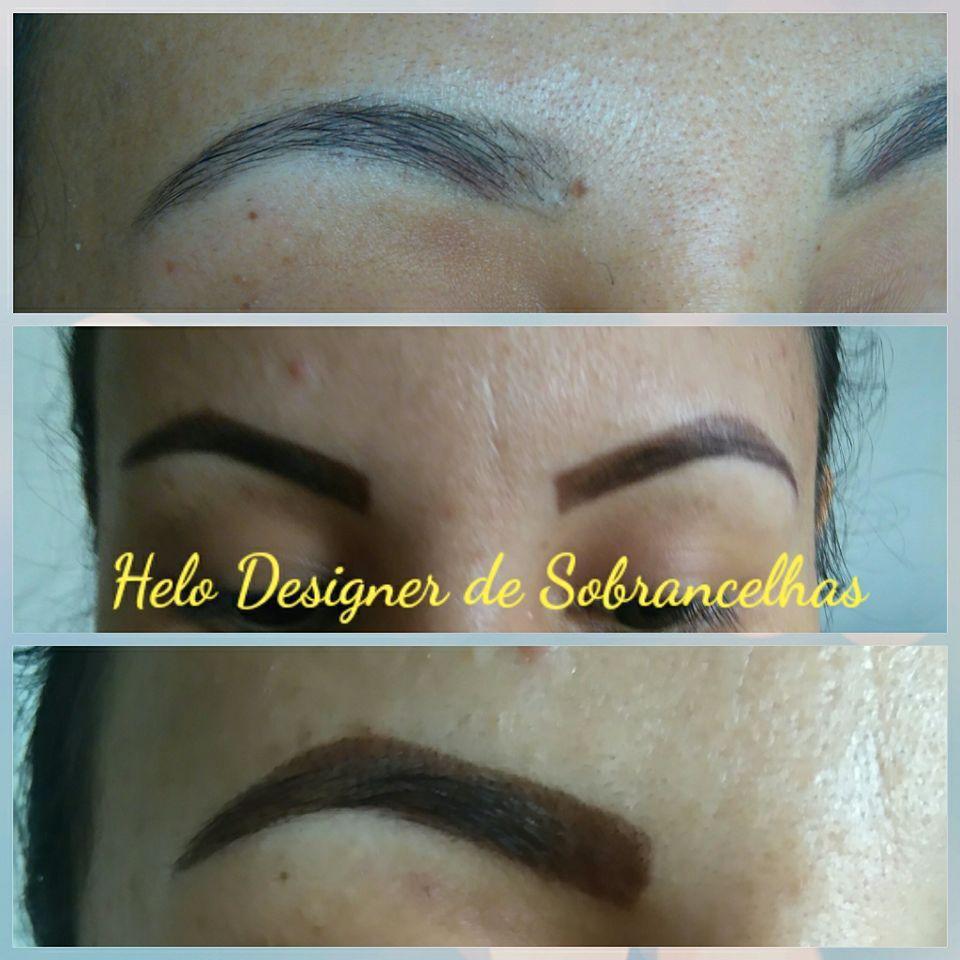 Aplicação de henna em sobrancelhas #muitoamor #sobrancelhas designer de sobrancelhas micropigmentador(a)