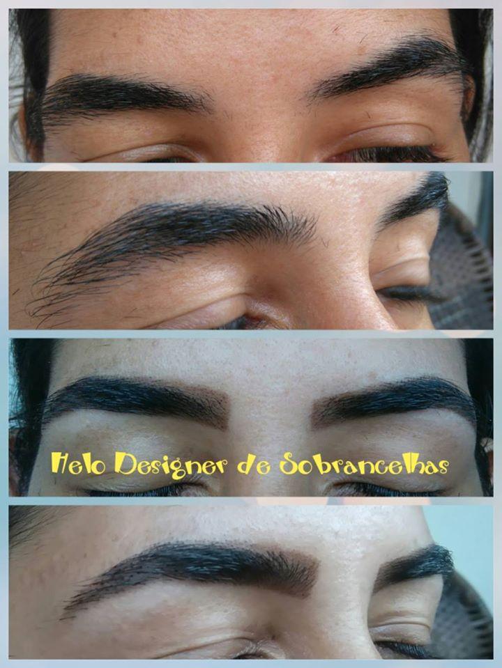 Sobrancelhas em restauração #henna #sobrancelhas designer de sobrancelhas micropigmentador(a)