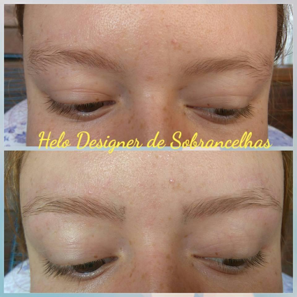 Ruivinha linda com Designer de Sobrancelhas #amor #diva #sobrancelhas designer de sobrancelhas micropigmentador(a)