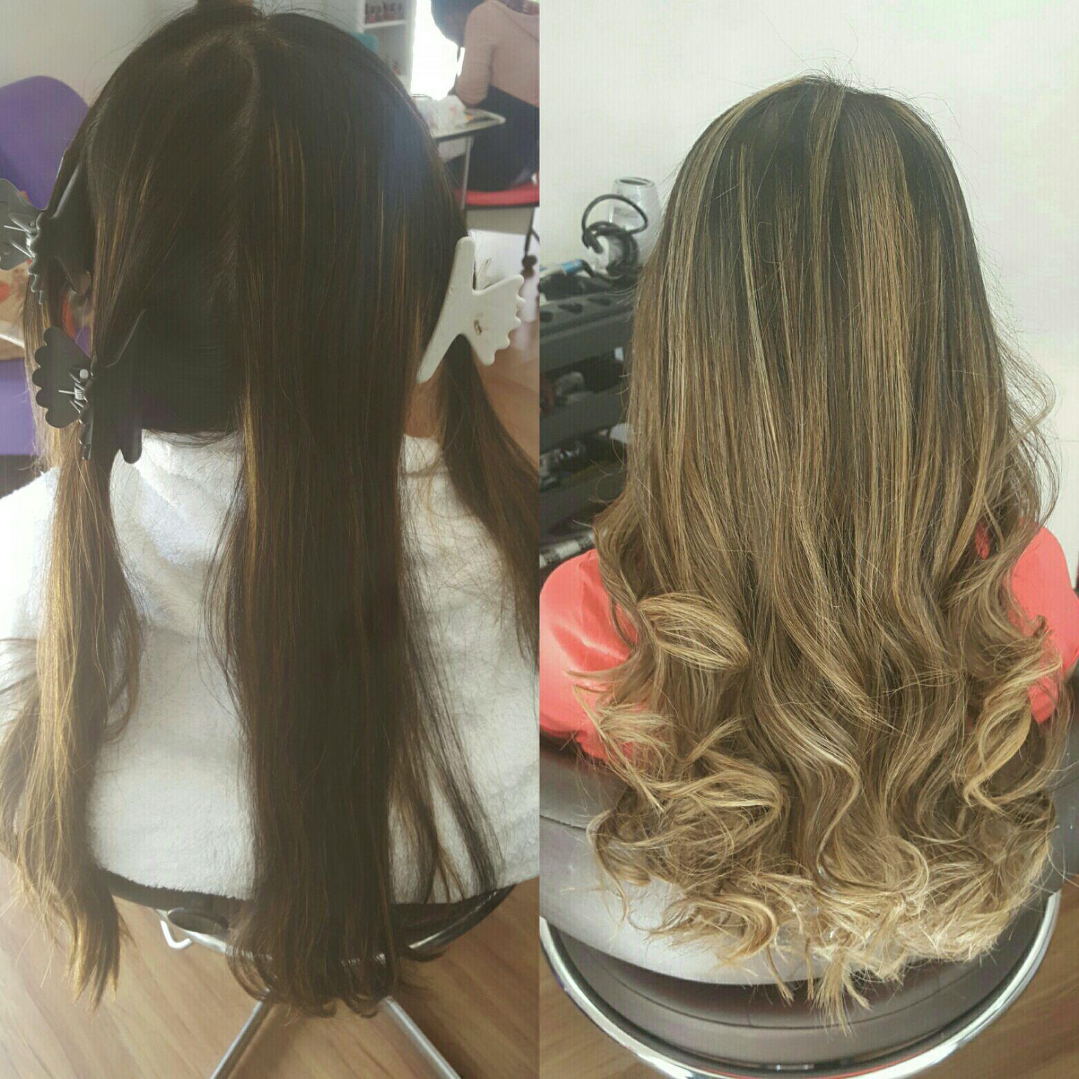 Luzes em tons pastéis para morenas cabelo cabeleireiro(a) maquiador(a) micropigmentador(a)
