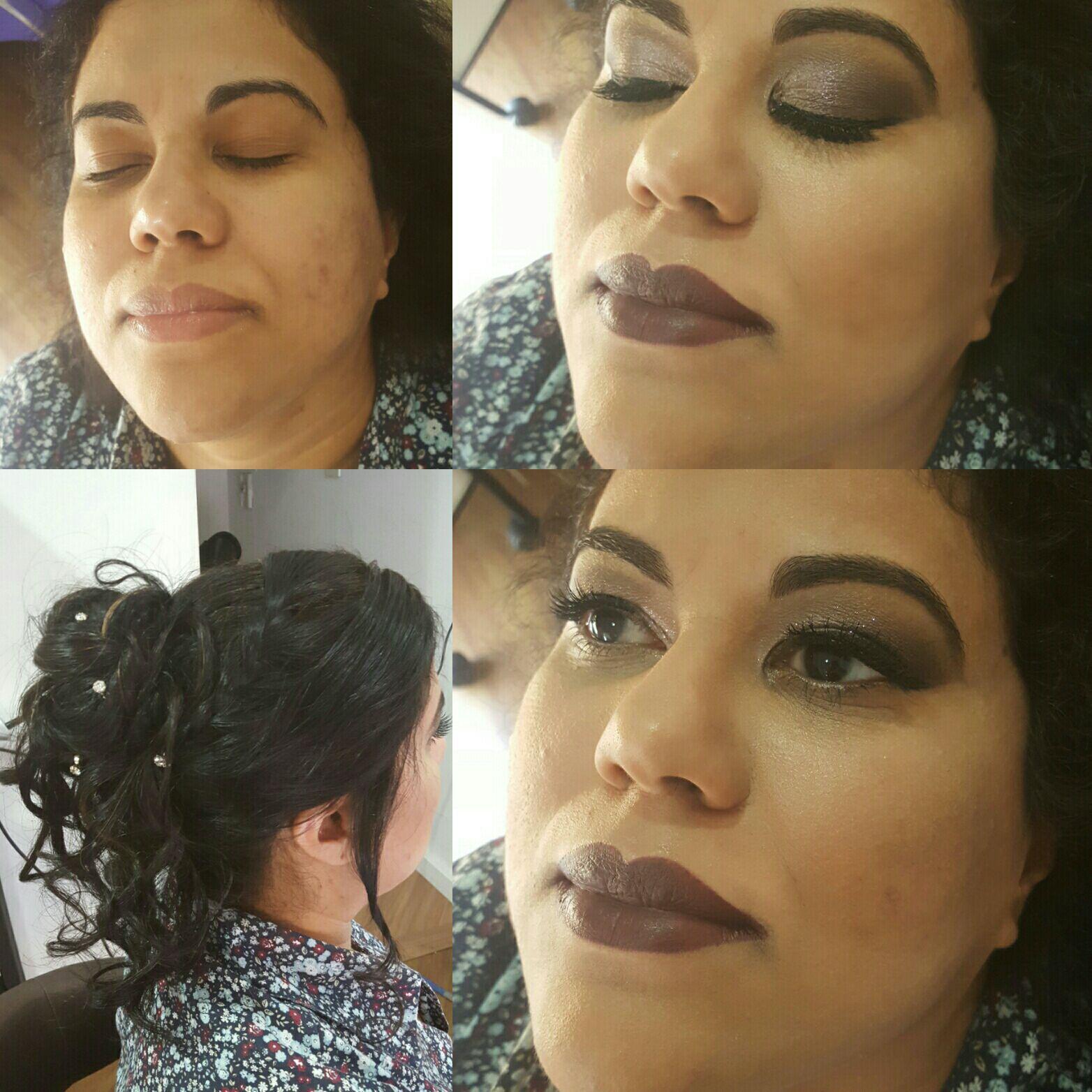Maquiagem + penteado para madrinhas maquiagem cabeleireiro(a) maquiador(a) micropigmentador(a)
