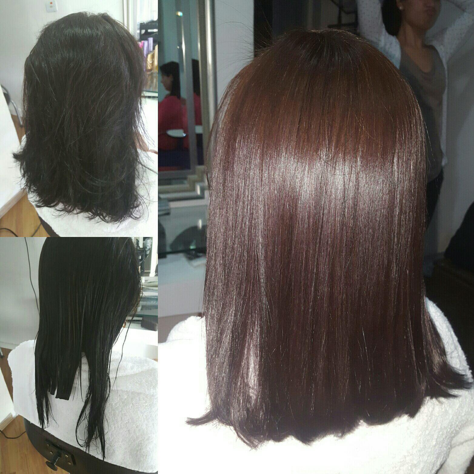 Escova Progressiva + corte cabelo cabeleireiro(a) maquiador(a) micropigmentador(a)