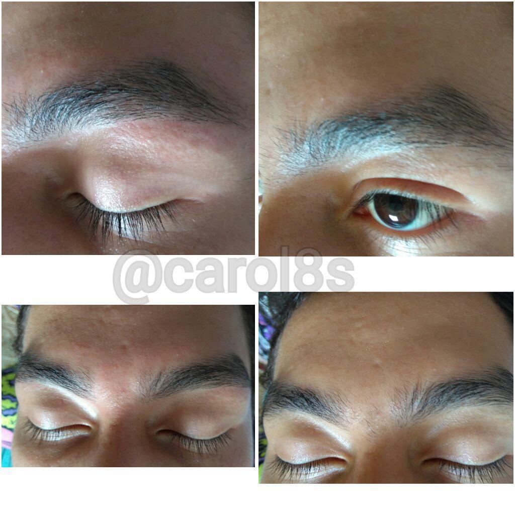 Limpeza de sobrancelhas masculina estética maquiador(a) auxiliar cabeleireiro(a) designer de sobrancelhas