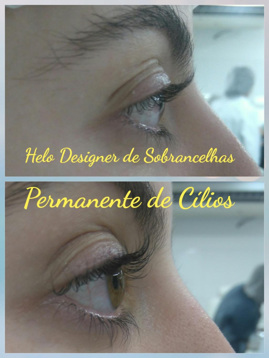 Permanente em cílios,  embelezamento do olhar designer de sobrancelhas micropigmentador(a)