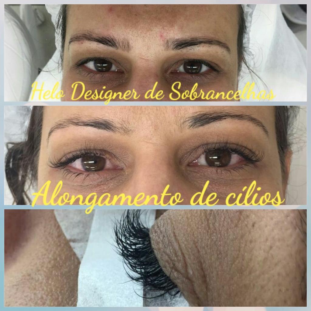 Alongamento de cílios,  embelezamento do olhar  designer de sobrancelhas micropigmentador(a)