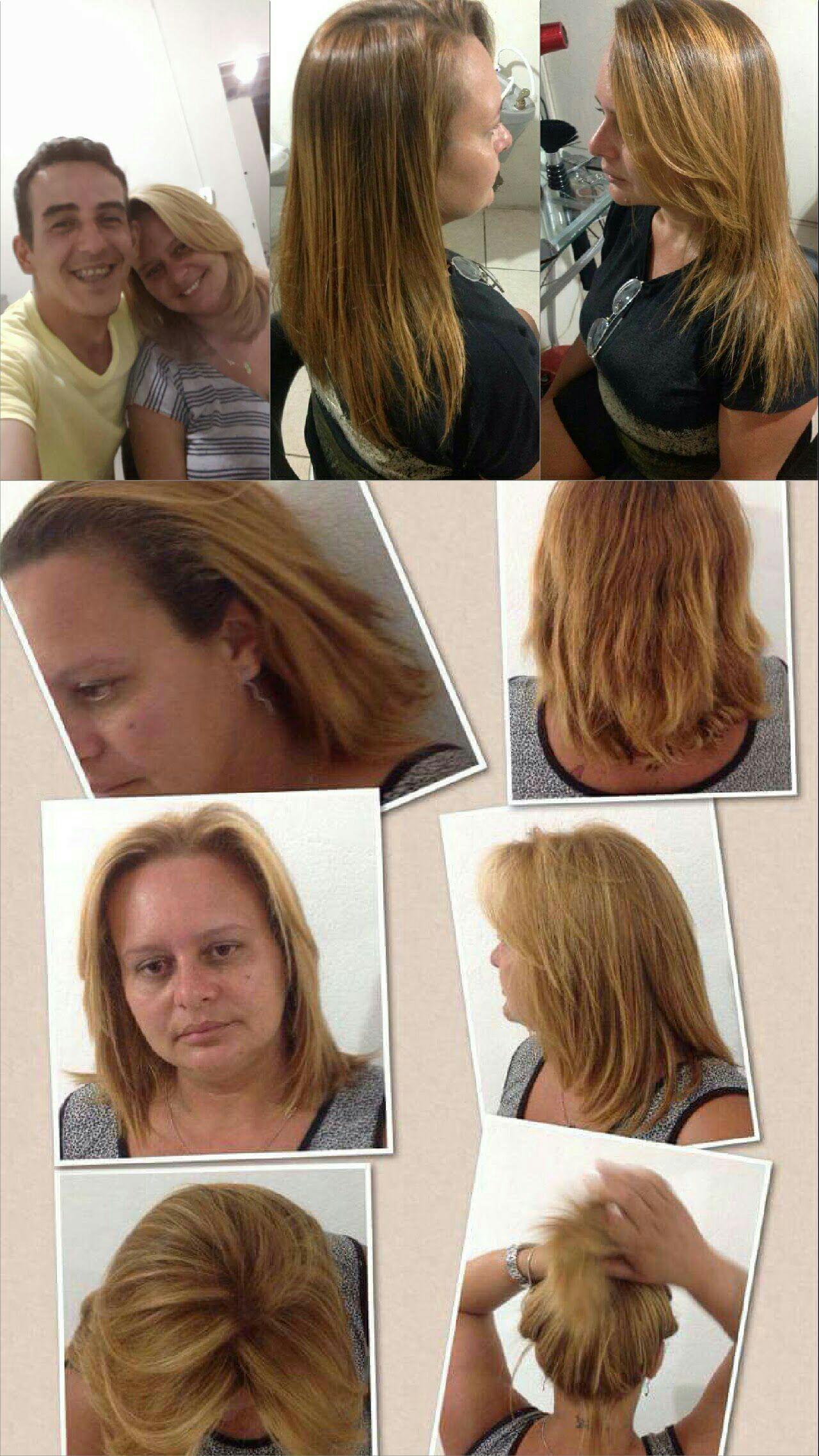 Cliente fiel por dois anos.. até emagreceu.. rsrs cabelo cabeleireiro(a) stylist / visagista auxiliar administrativo