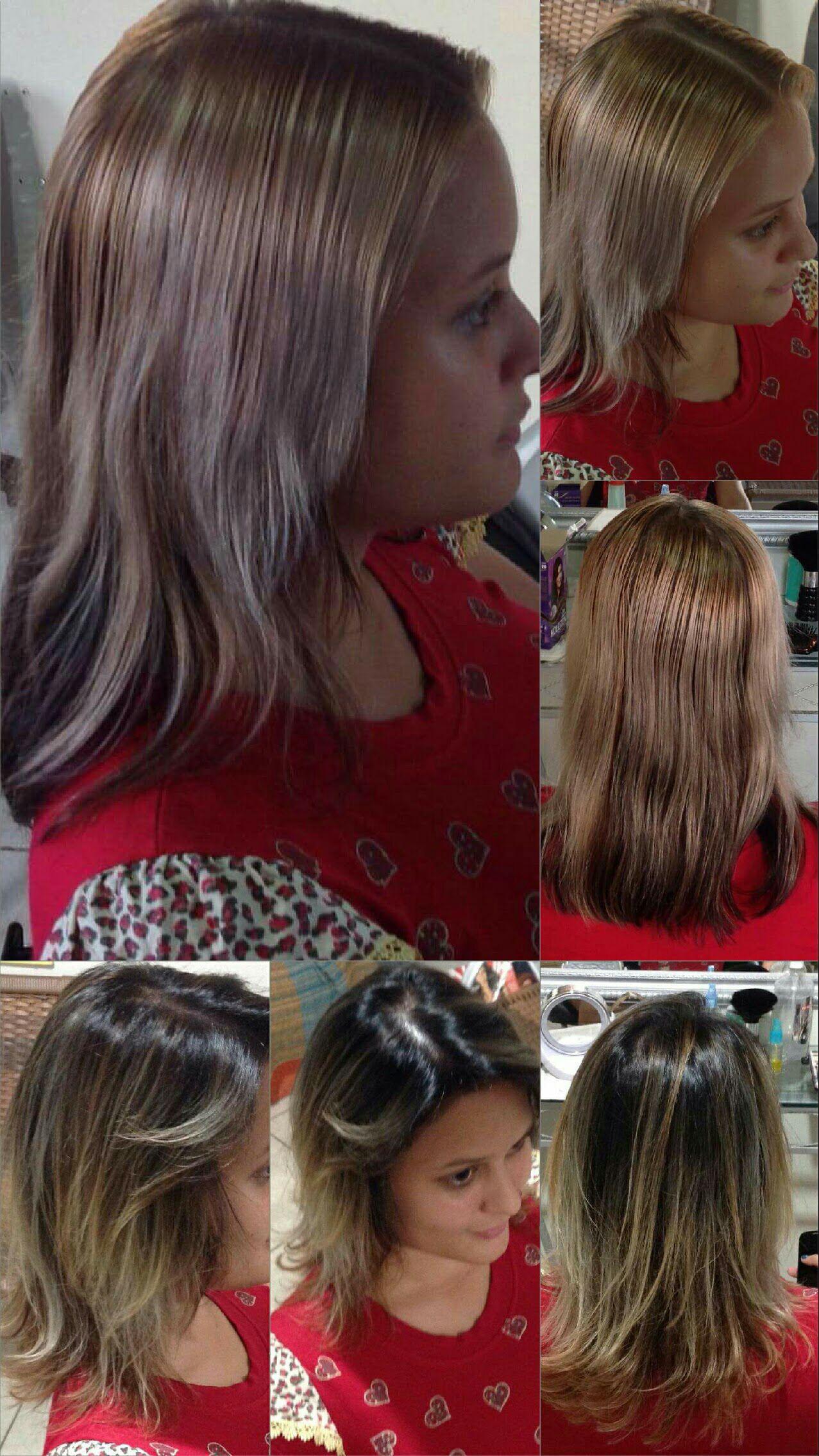Inversão de cor cabelo cabeleireiro(a) stylist / visagista auxiliar administrativo