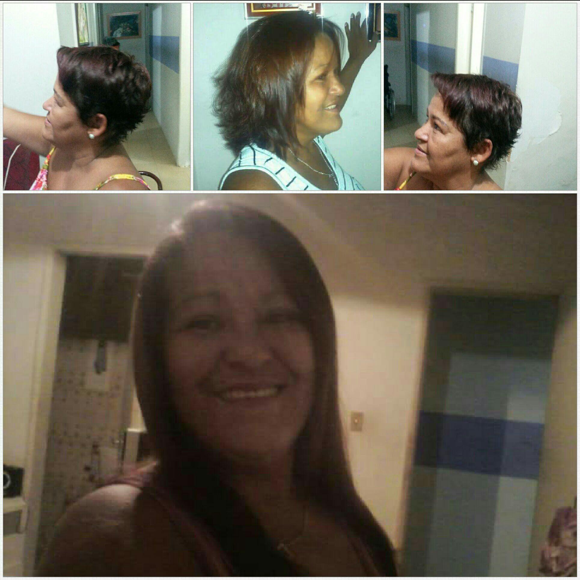 Minha amiga de Recife.. só corta a cada 3-5 anos quando vou visita-la. Rsrs cabelo cabeleireiro(a) stylist / visagista auxiliar administrativo