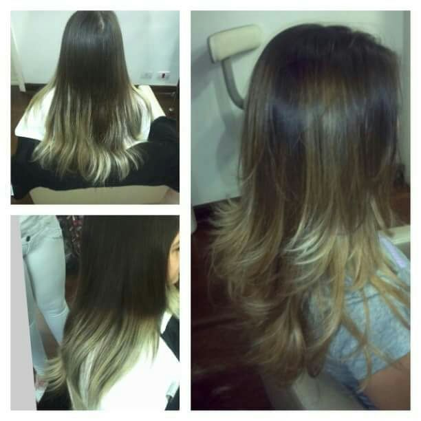 Correção de onbre-hair cabelo cabeleireiro(a) stylist / visagista auxiliar administrativo