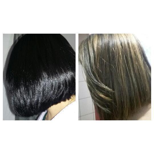 saindo do preto !!! cabelo auxiliar cabeleireiro(a) escovista recepcionista