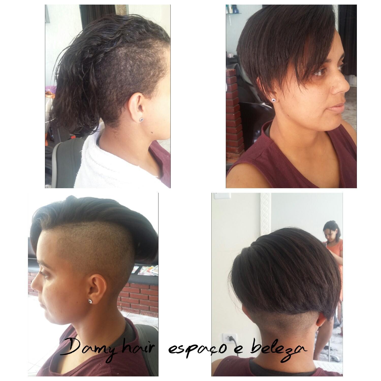 corte e progressiva cabelo auxiliar cabeleireiro(a) escovista recepcionista