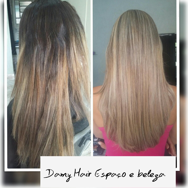 luzes cabelo auxiliar cabeleireiro(a) escovista recepcionista