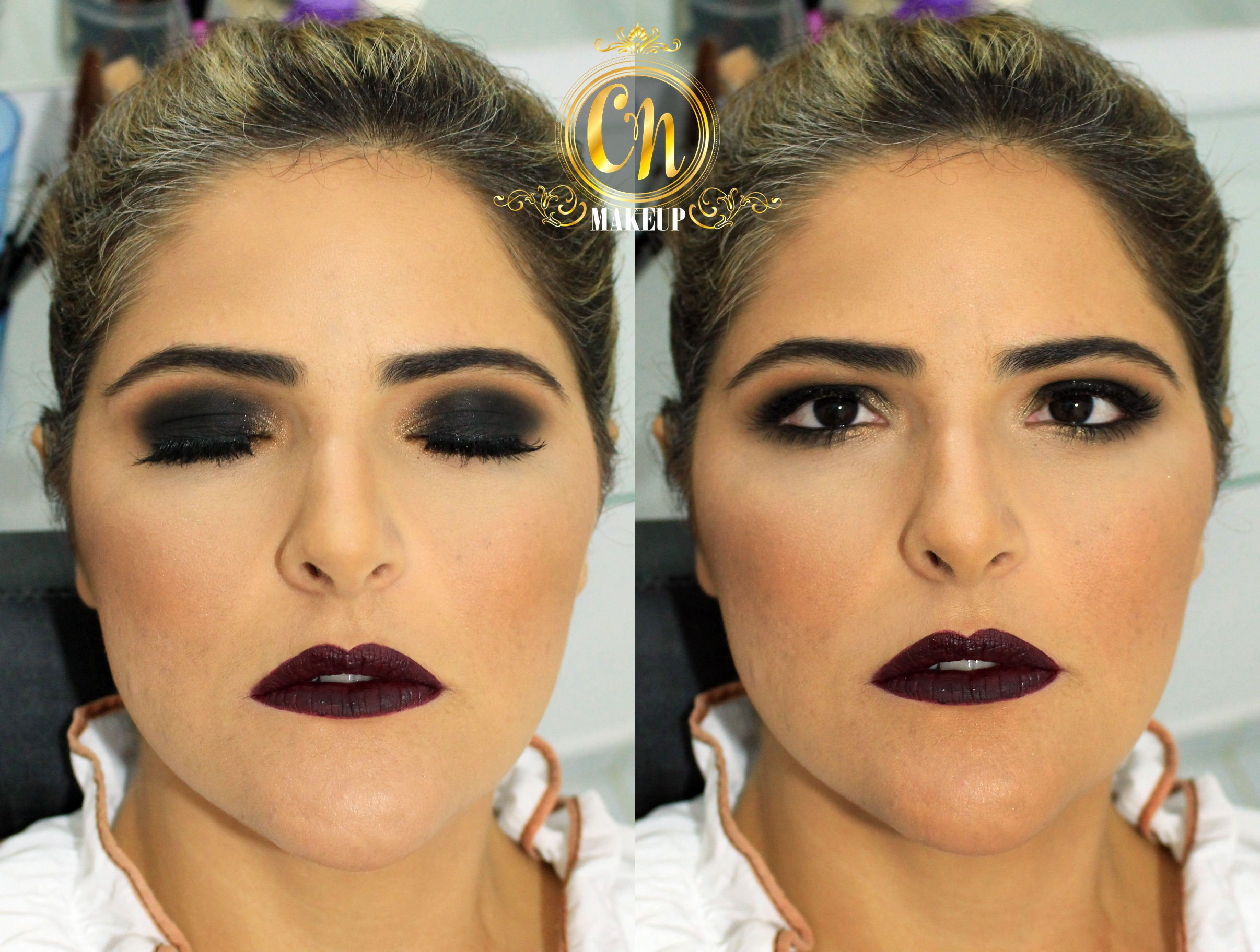 Maquiagem ousada para balada! #makeup #maquiagembalada #smokeyeye #bocaoeolhao #olhotudo #bocatudo maquiagem maquiador(a)