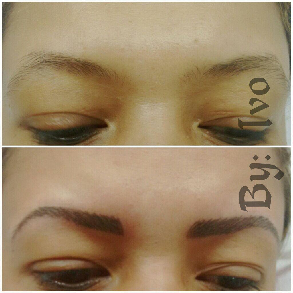 Micropigmentação de sobrancelha fio a fio estética cabeleireiro(a) escovista dermopigmentador(a) designer de sobrancelhas maquiador(a) micropigmentador(a)