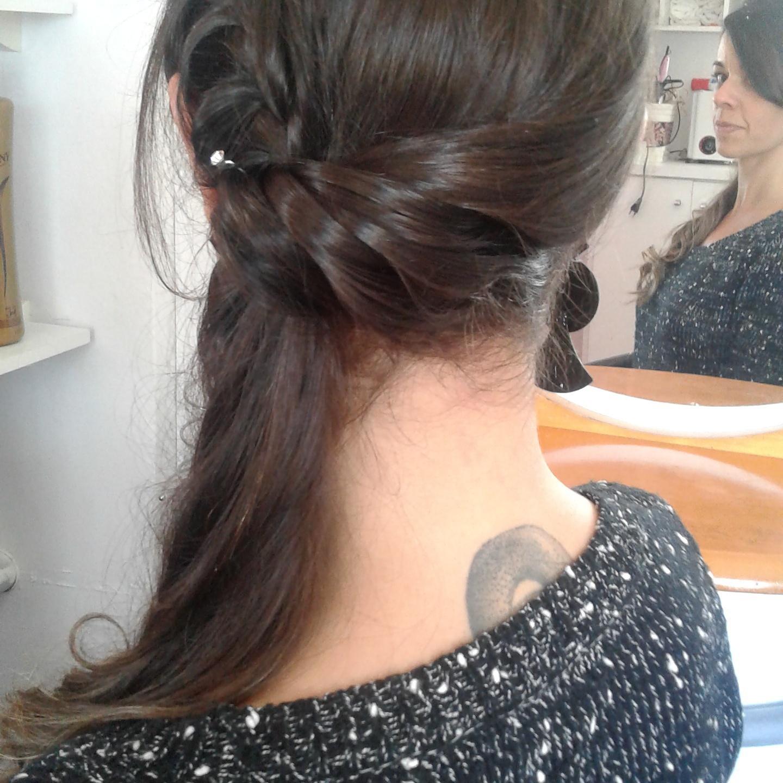 Penteaado cabelo cabeleireiro(a)