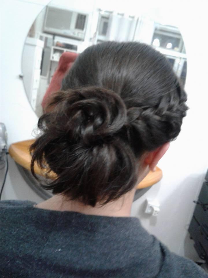 Penteado- trança cabelo cabeleireiro(a)