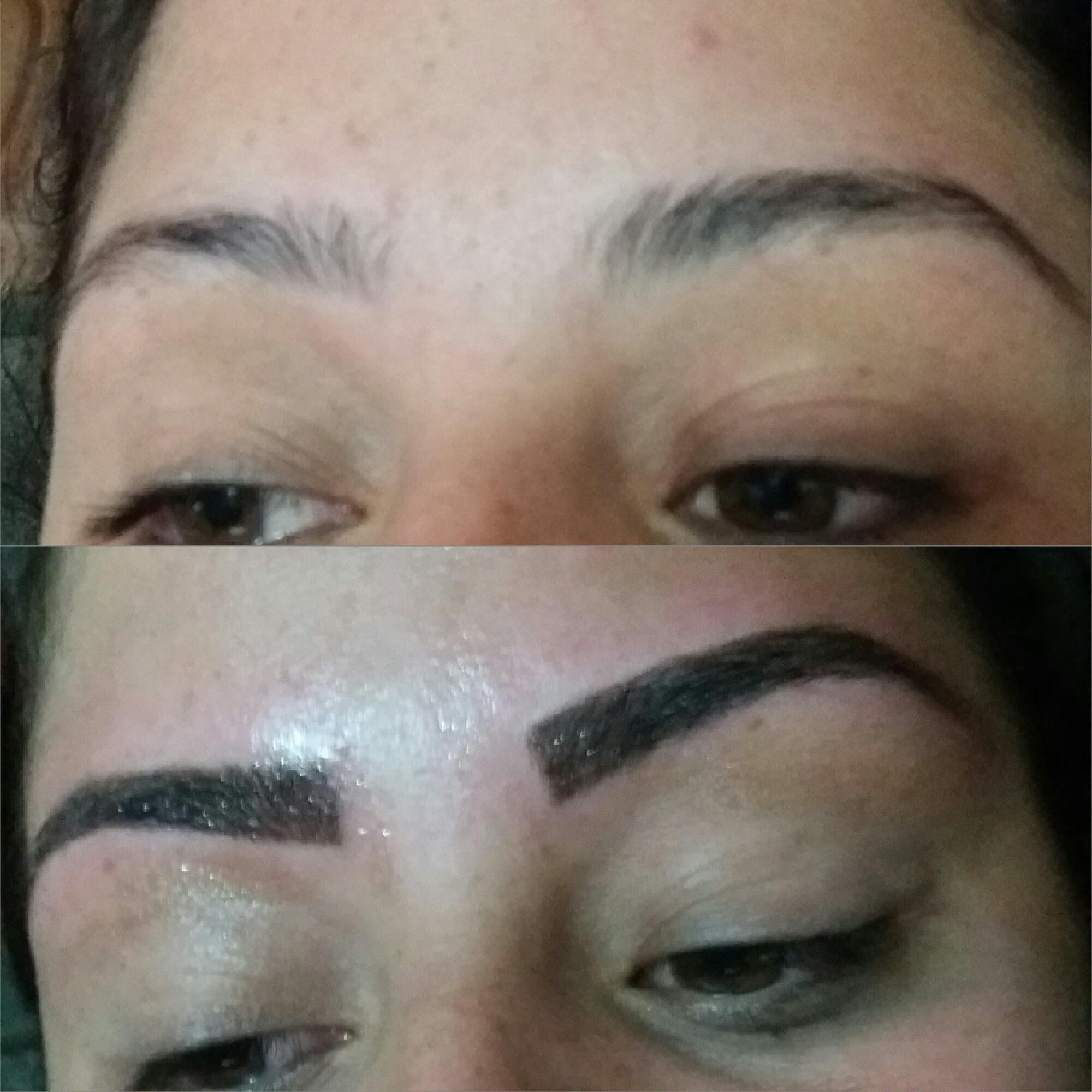 #Micropigmentação esfumada  designer de sobrancelhas micropigmentador(a)