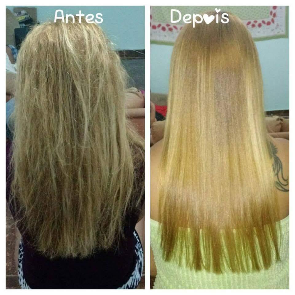 Progressiva e reconstrução cabelo auxiliar cabeleireiro(a) recepcionista maquiador(a)