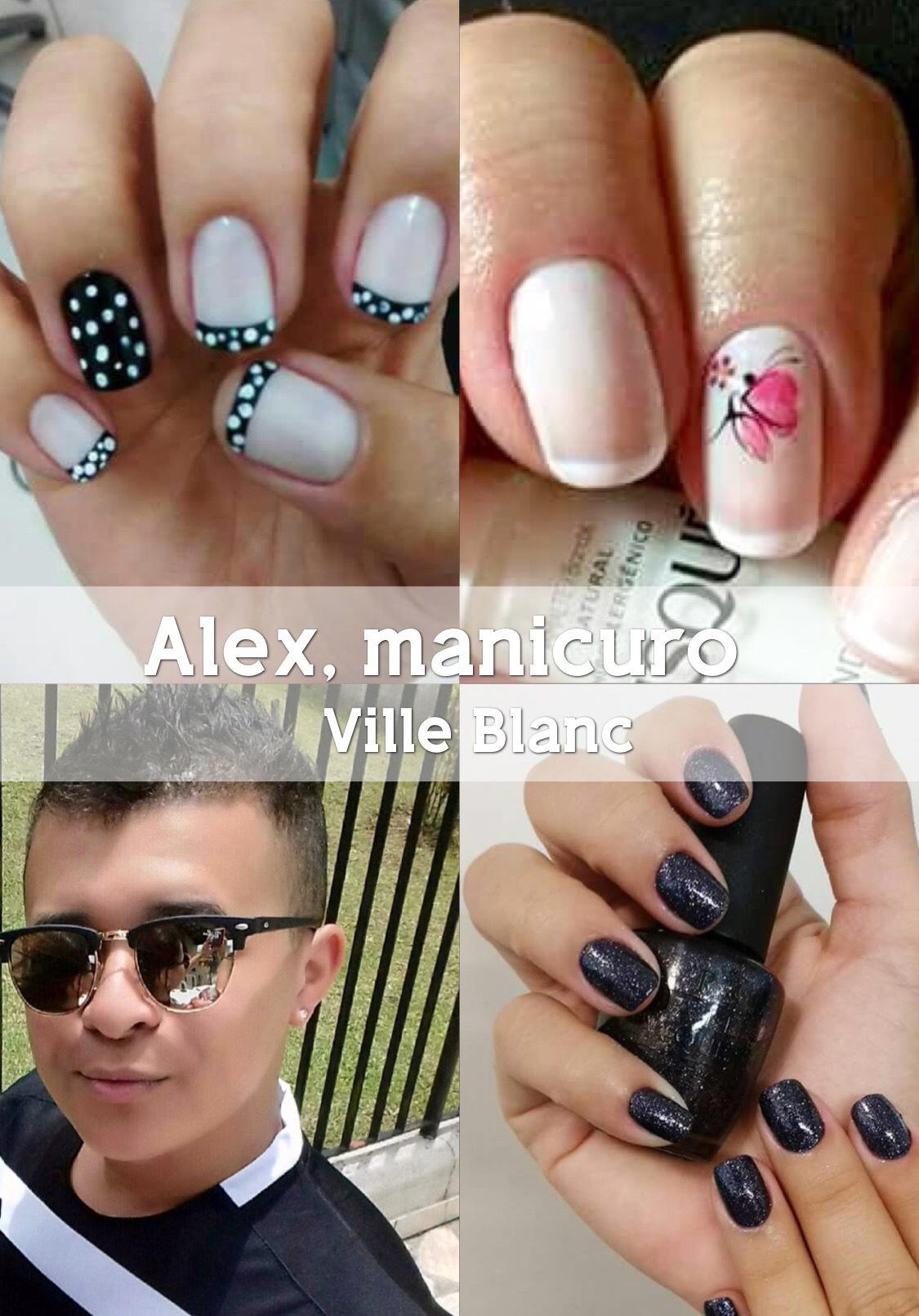 ALEX, manicuro e pedicuro do Ville Blanc. unha empresário(a)