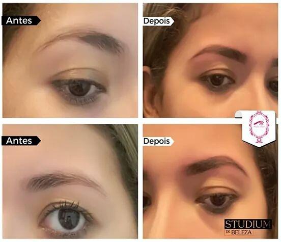 Micropigmentação estética designer de sobrancelhas micropigmentador(a) esteticista depilador(a)