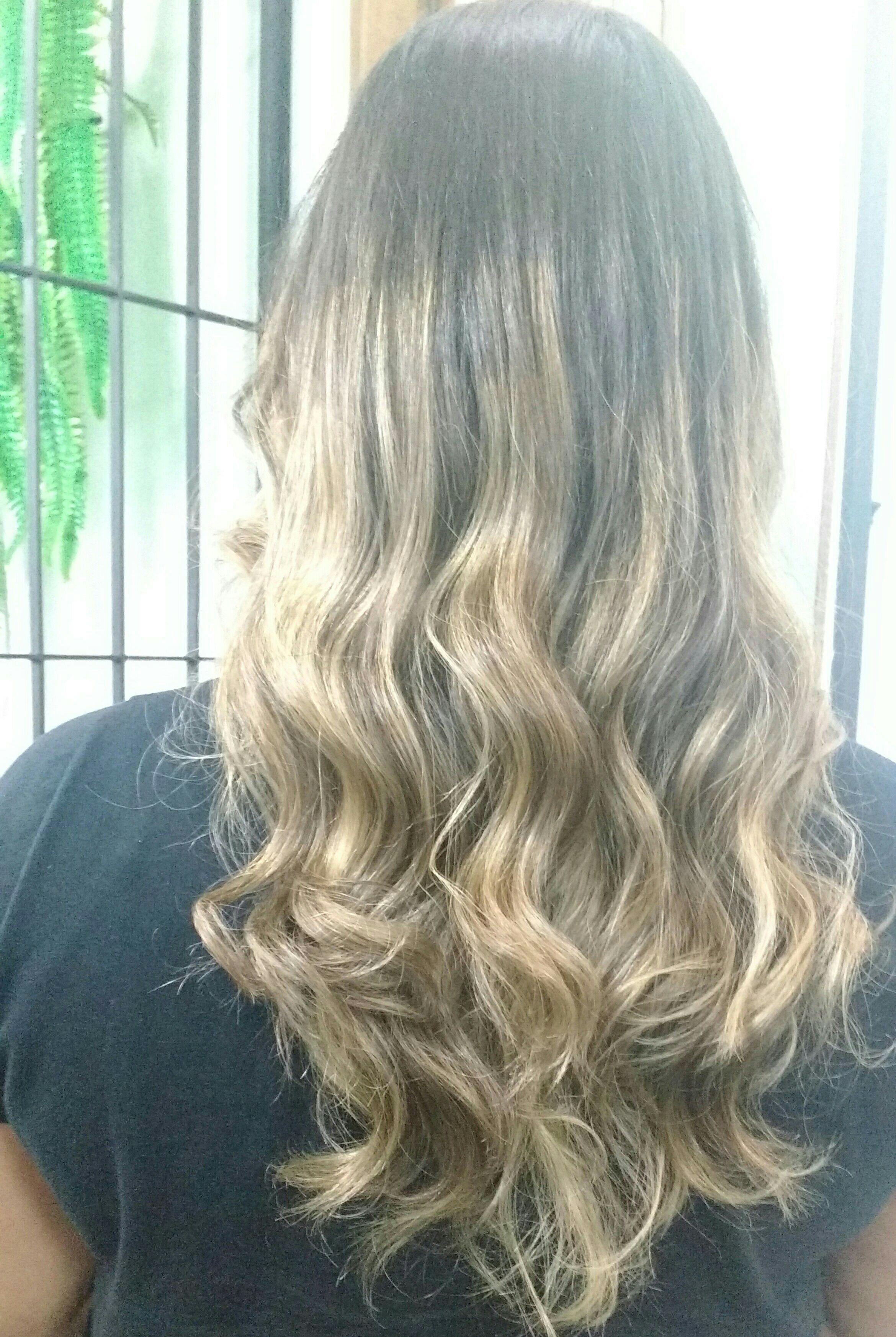 Ombre mechas cabeleireiro(a) cabeleireiro(a)