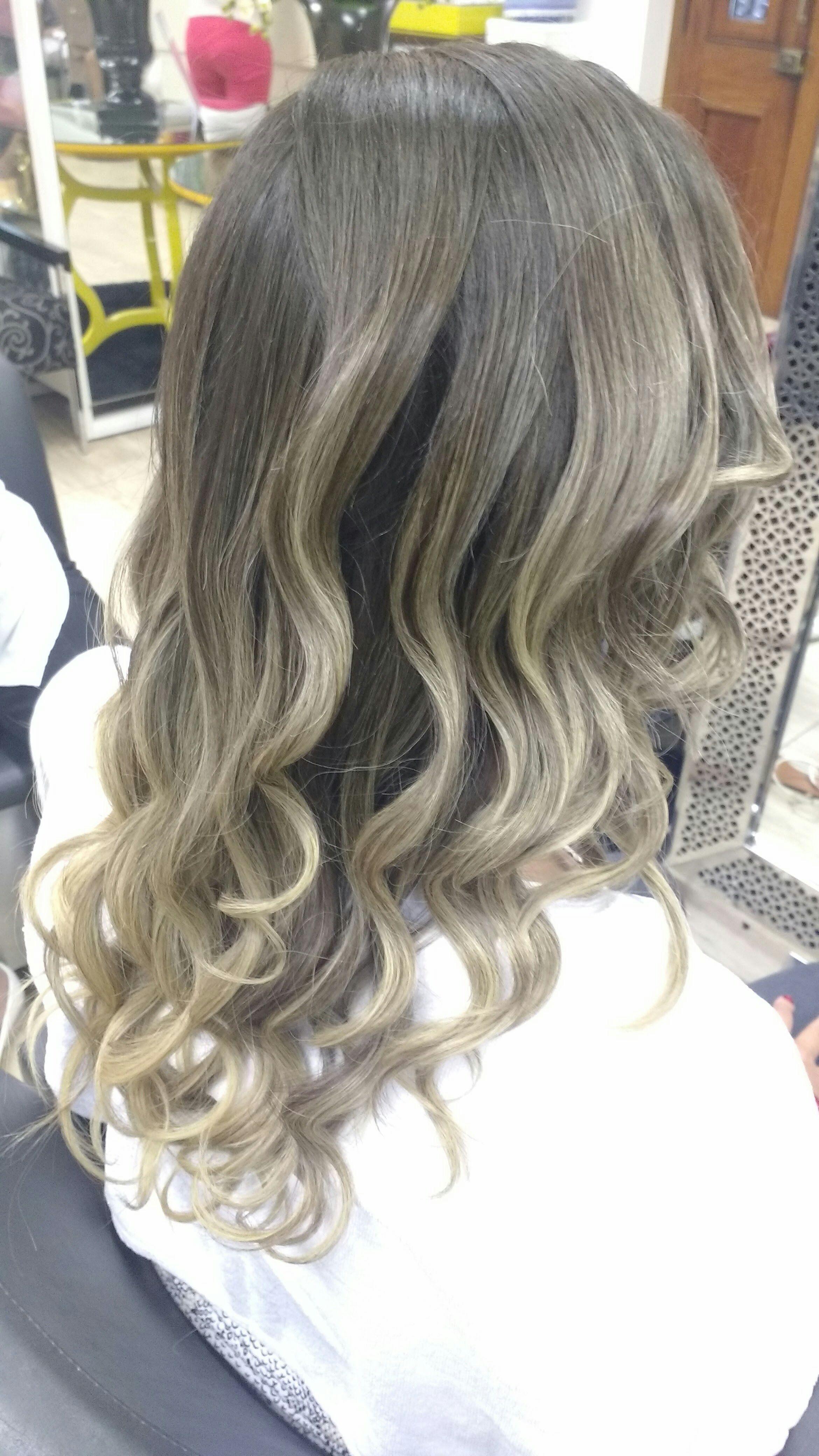 Mechas ombre, finalizado com babylis cabeleireiro(a) cabeleireiro(a)