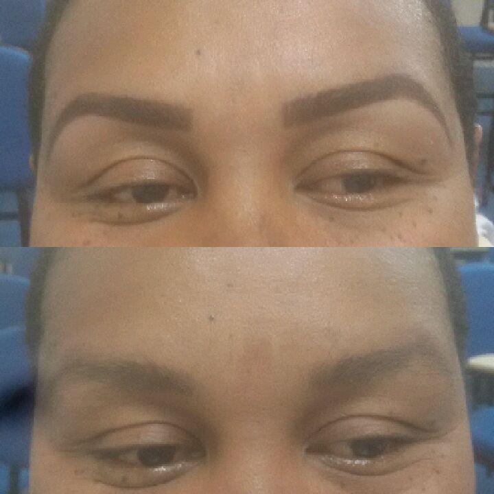 Design e henna esteticista designer de sobrancelhas