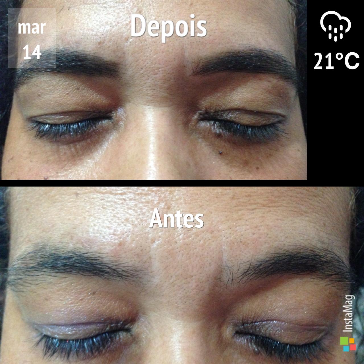 Design de sombrancelha + henna  estética designer de sobrancelhas depilador(a)