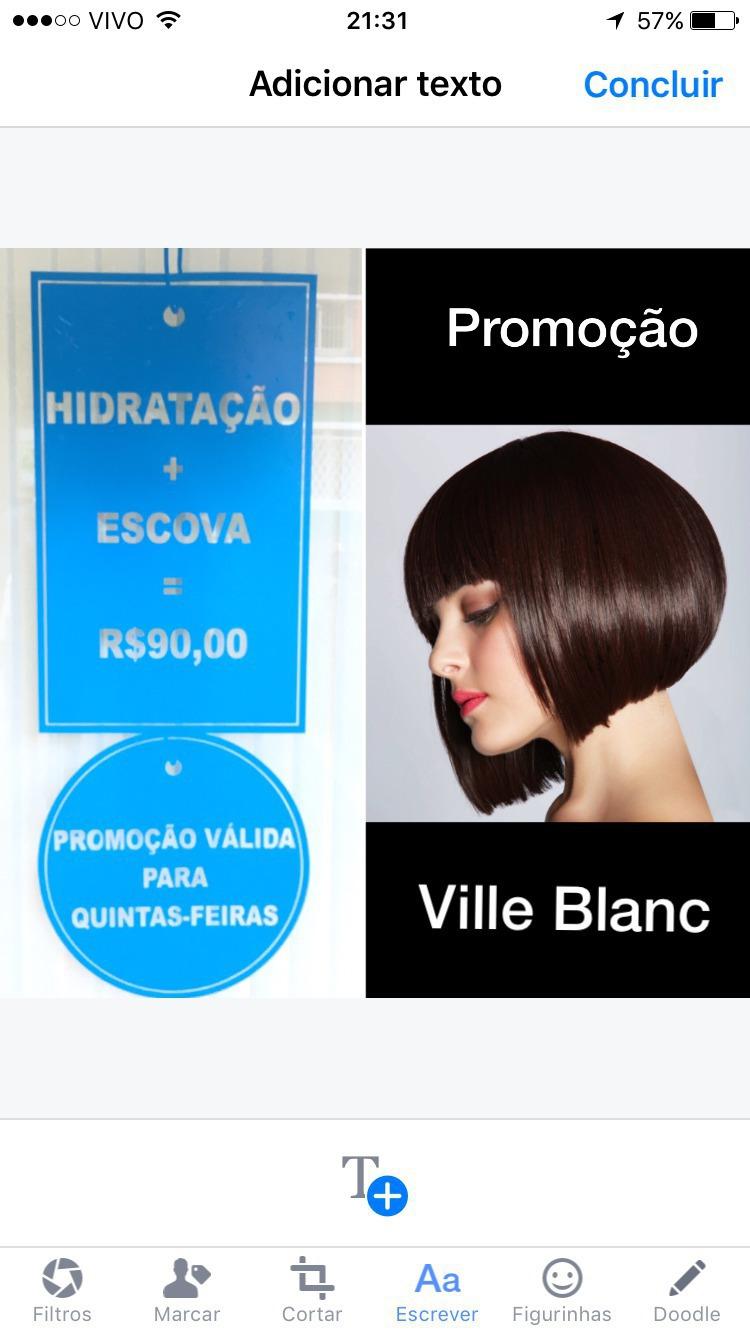 Promoção imperdível!!! Hidratação + Escova = R$ 90,00. Agende o seu horário (11) 5044 1561. cabelo empresário(a)