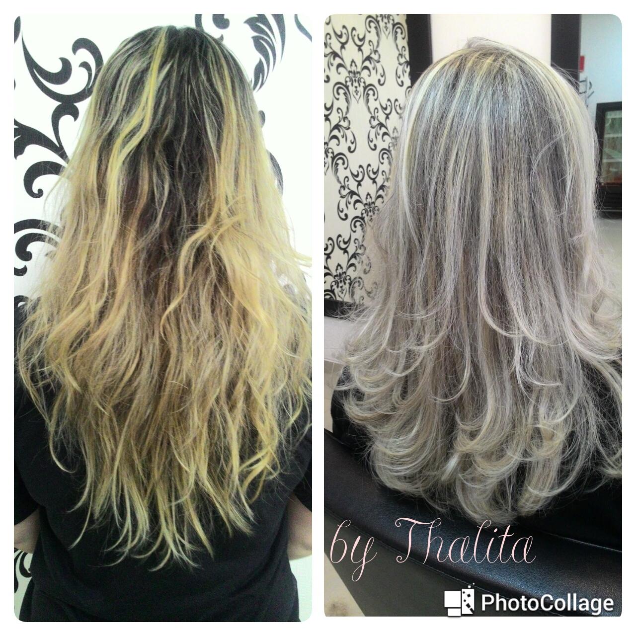 Correção de cor. cabelo cabeleireiro(a) auxiliar cabeleireiro(a) escovista