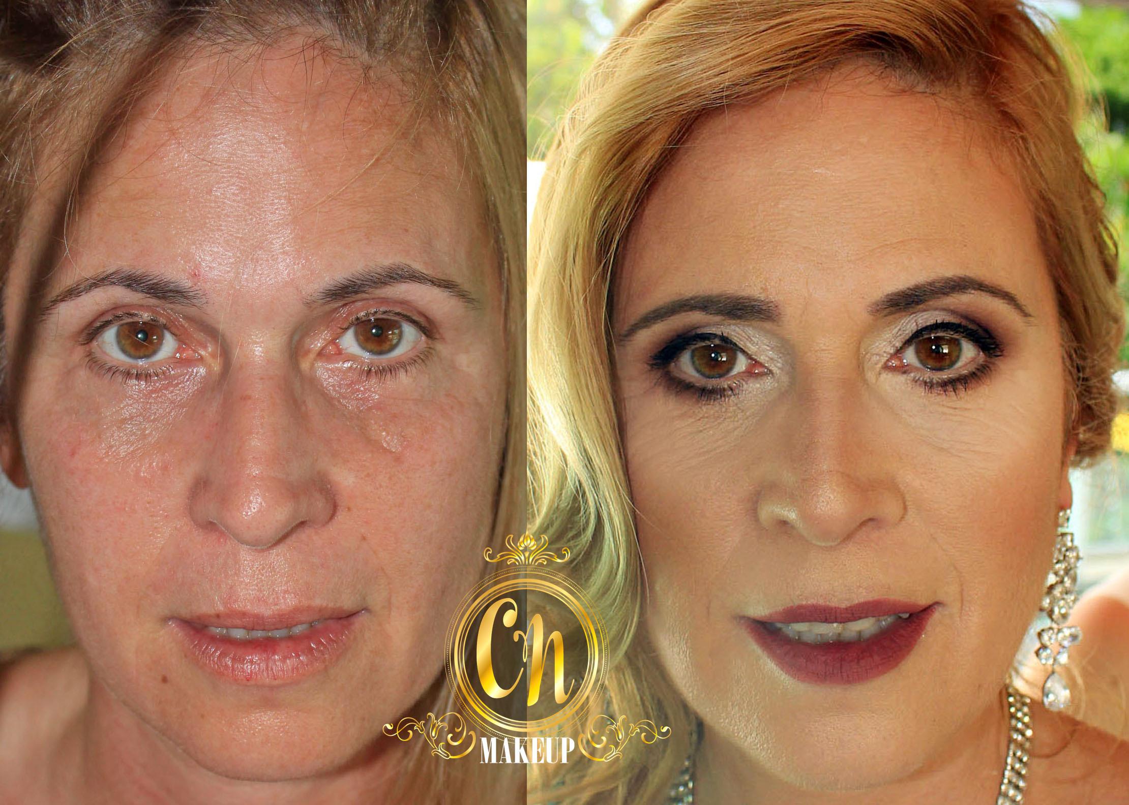 Antes & depois ♥ maquiagem esconde os defeitinhos e realça a beleza !  . #maquiagem #maquiagempro #maquiagemubatuba #maquiagemcasamento #pelemadura #maquiagempelemadura #antesedepois #producao #madrinha #maquiagemmadrinha #maquiadoraubatuba #portfolio #mua #makeuptransformation #beforeafter maquiagem maquiador(a)