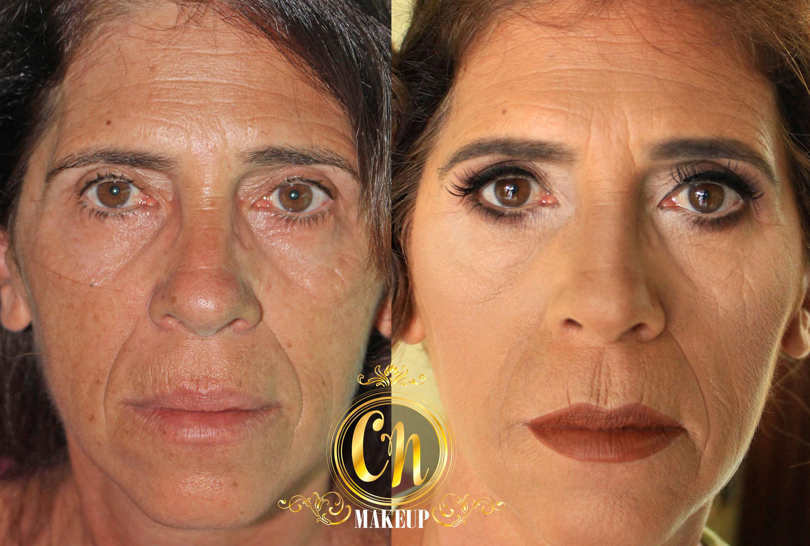 Antes e depois de pele madura! Maquiagem neutra para casamento :)  #maquiagem #maquiagempro #maquiagemubatuba #maquiagemcasamento #pelemadura #maquiagempelemadura #antesedepois #producao #madrinha #maquiagemmadrinha #maquiadoraubatuba #portfolio #mua #makeuptransformation #beforeafter maquiagem maquiador(a)