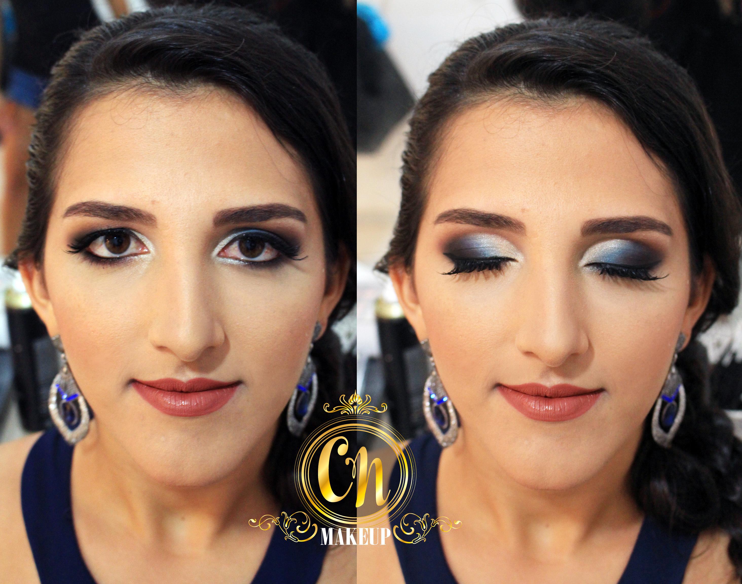 Maquiagem marcante azulada para formatura! . #maquiagem #maquiagempro #maquiagemubatuba #maquiagens #antesedepois #producao #maquiadoraubatuba #portfolio #mua #makeuptransformation #beforeafter #maquiagemformatura #formanda #makeupartist maquiagem maquiador(a)