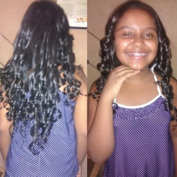 Cachos cabelo auxiliar cabeleireiro(a)