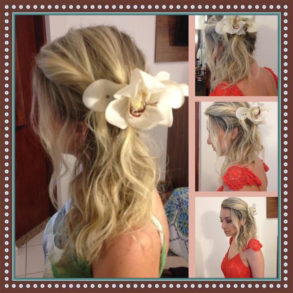 cabelo semi ppreso madrinha maresias  cabelo cabeleireiro(a) maquiador(a)