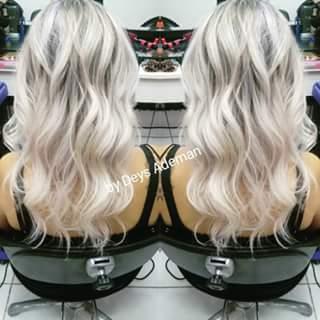 Um Divo platinado, haircontour cabeleireiro(a)