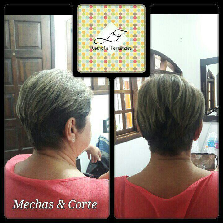 mechas e corte moderno e despojado ..... cabelo cabeleireiro(a) maquiador(a) barbeiro(a) designer de sobrancelhas dermopigmentador(a)
