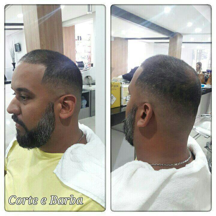 cabelo e barba undercut... cabeleireiro(a) maquiador(a) barbeiro(a) designer de sobrancelhas dermopigmentador(a)