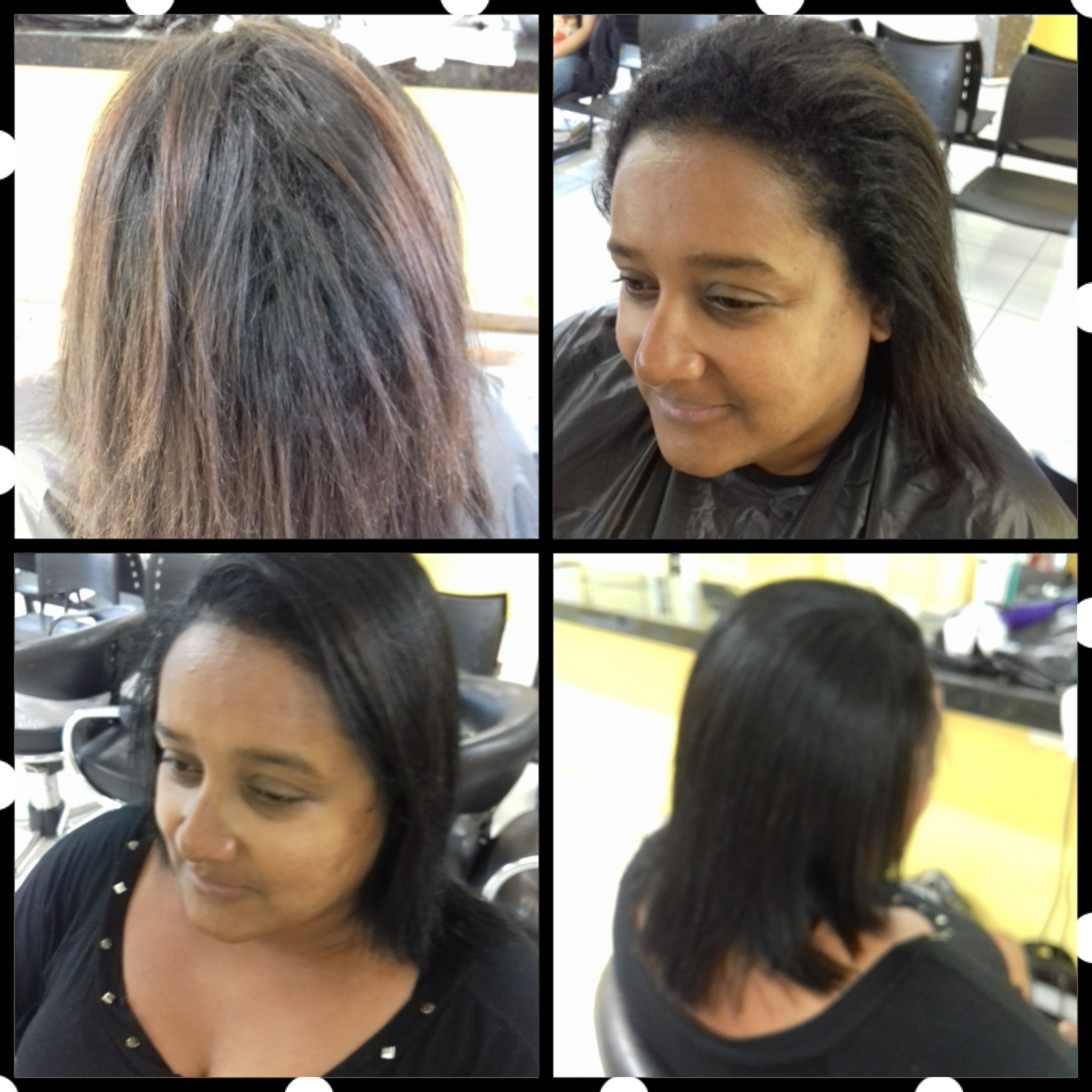 Progressiva e tintura cabelo auxiliar cabeleireiro(a)