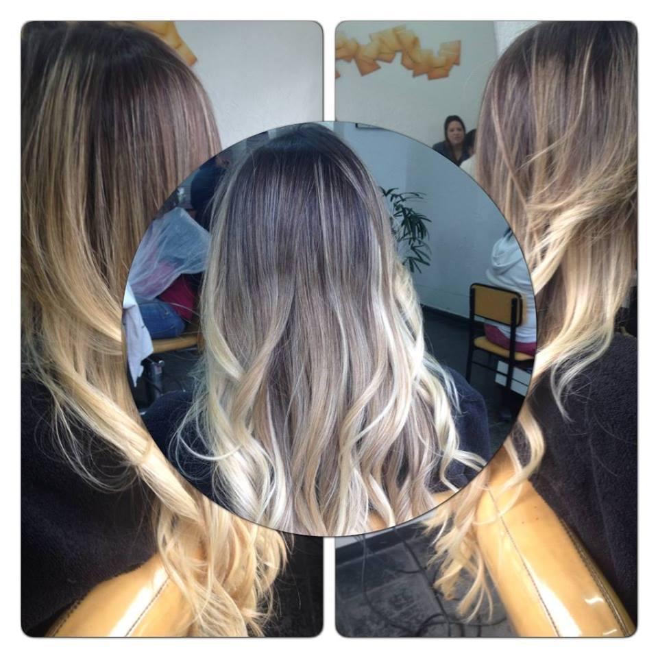 #ombré #loira  cabelo cabeleireiro(a) gerente representante comercial