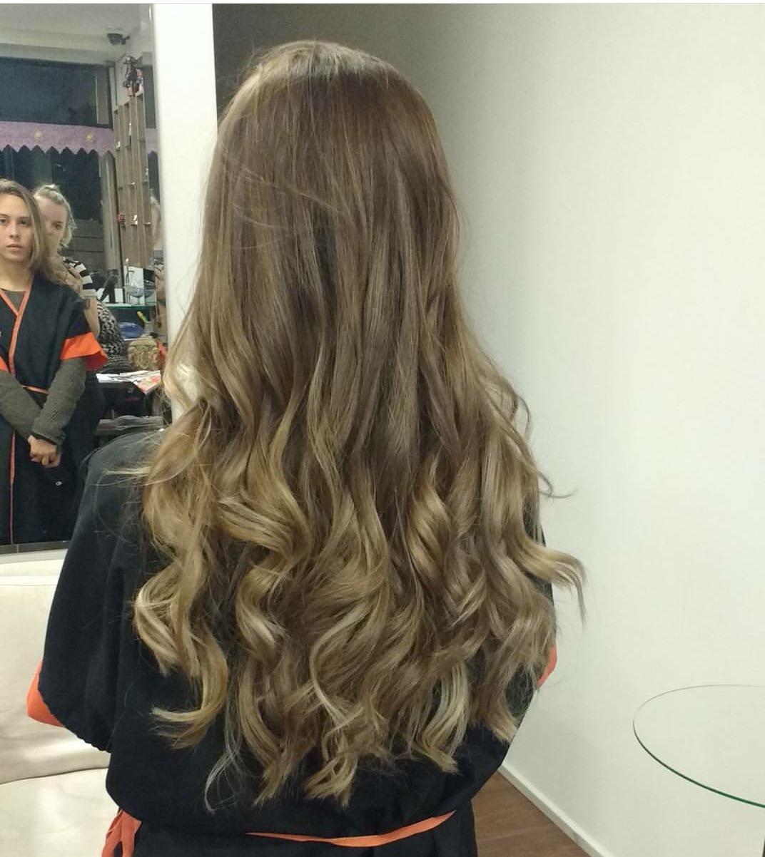Ombré hair sutil cabelo cabeleireiro(a)