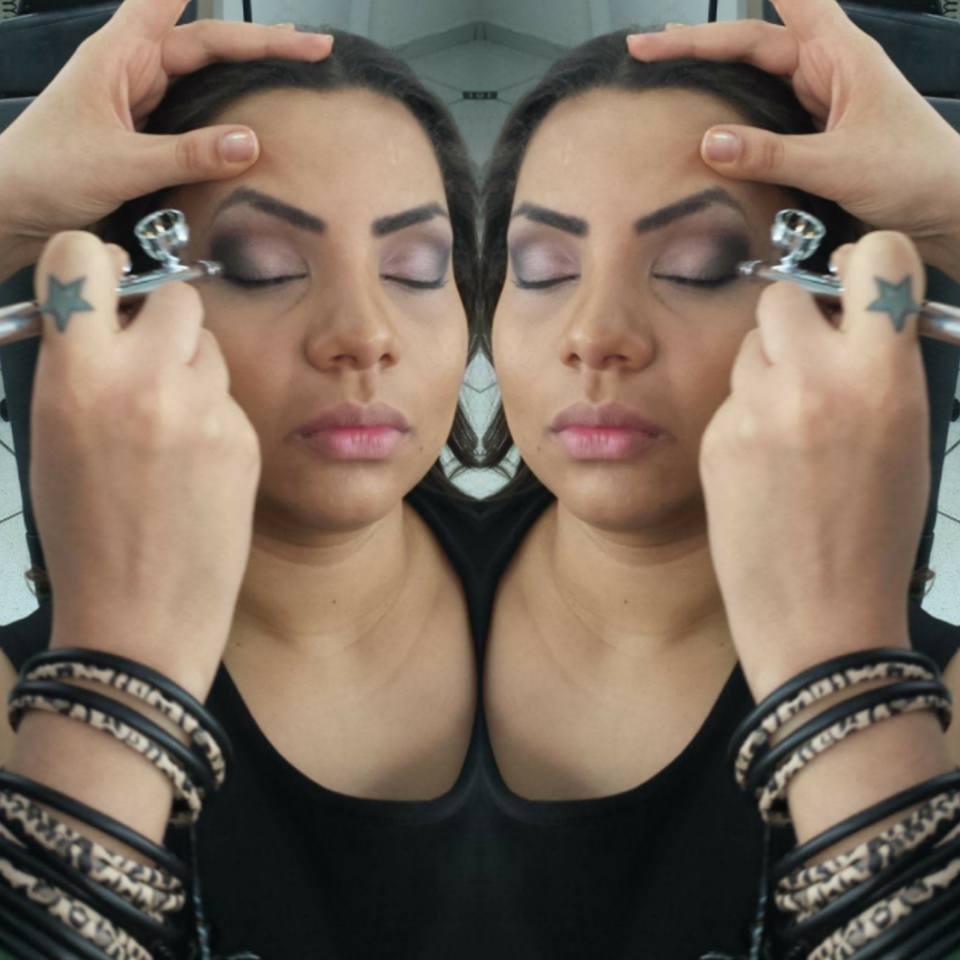 TECNICA EM AIRBRUSH maquiagem maquiador(a) designer de sobrancelhas cabeleireiro(a)