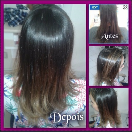 Ombre Hair cabelo cabeleireiro(a) auxiliar cabeleireiro(a) maquiador(a)