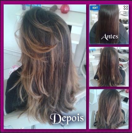 Mechas cabelo cabeleireiro(a) auxiliar cabeleireiro(a) maquiador(a)