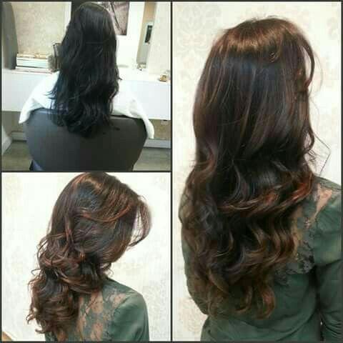 Escova. Modelada iluminação cabeleireiro(a) auxiliar cabeleireiro(a)