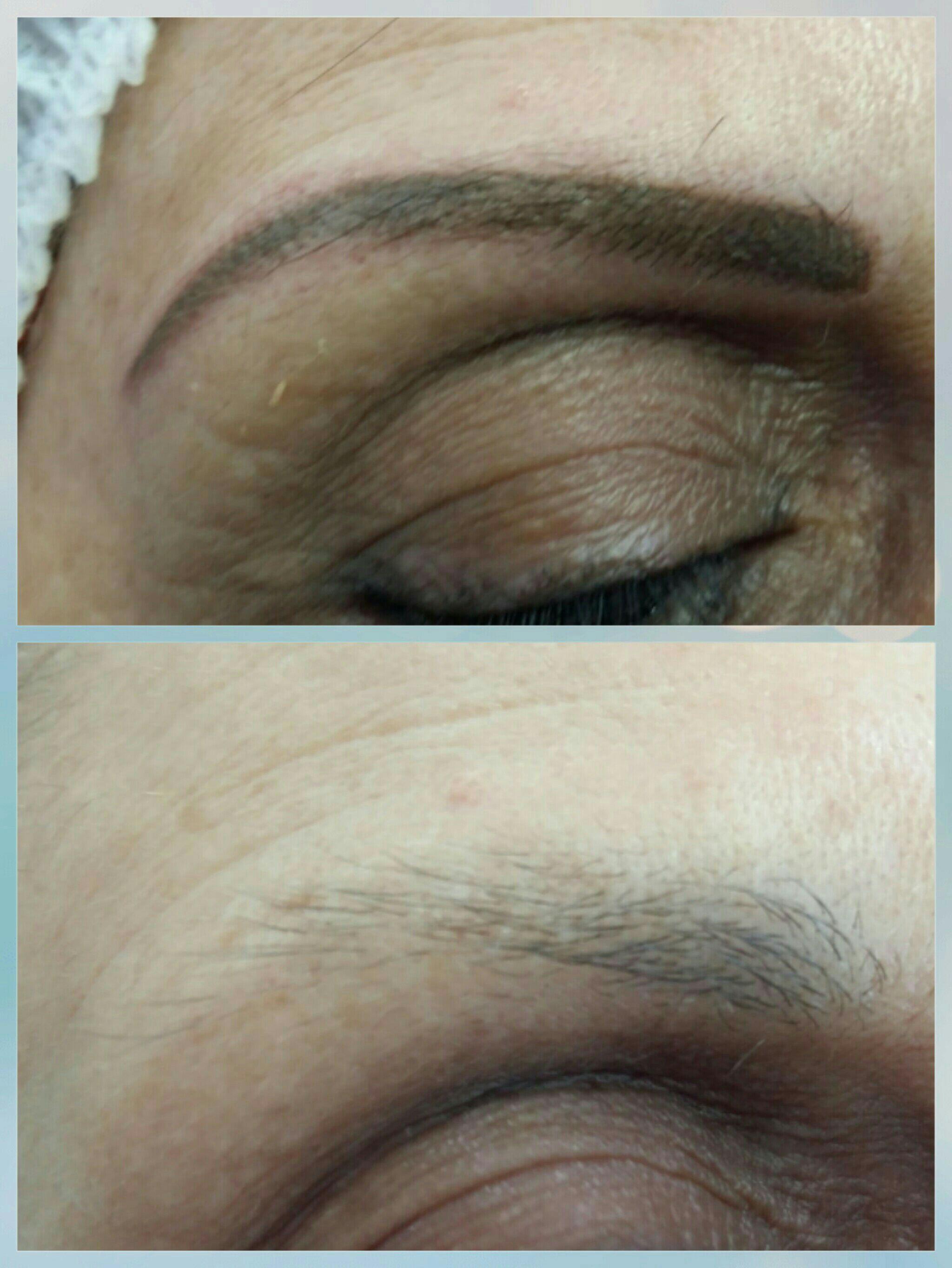 Técnica esfumada outros micropigmentador(a) maquiador(a) designer de sobrancelhas depilador(a)